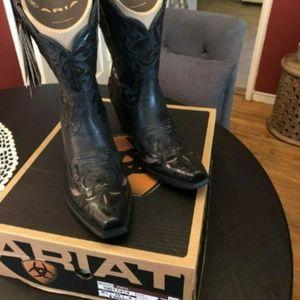 Ariat Shoes - Ariat Dahlia Black Women's Boots Size 8.5
